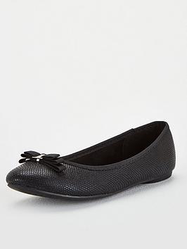 wallis-bow-textilenbspballerina-flats-black
