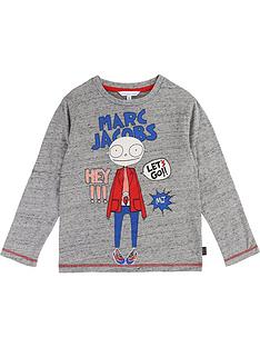 little-marc-jacobs-boys-mister-marc-print-t-shirt--grey