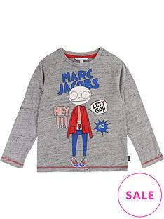 little-marc-jacobs-boys-mister-marc-print-t-shirt--grey