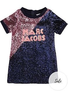 little-marc-jacobs-girls-sequin-logo-dress