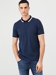 v-by-very-colour-block-collar-polo-shirt-navy