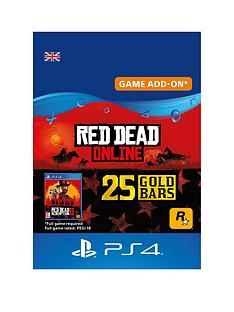 sony-red-dead-online-25-gold-bars