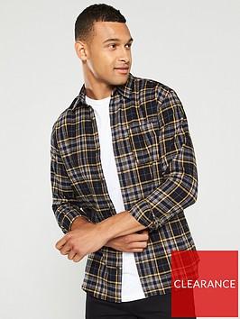 jack-jones-brook-long-sleeved-shirt-navy-blazeryellow