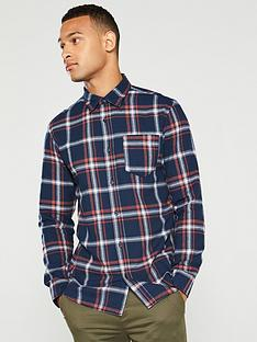 jack-jones-brook-long-sleeved-shirt-navyred
