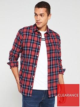 jack-jones-jake-check-long-sleeve-shirt-rednavy