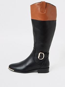 river-island-riding-knee-boot-black