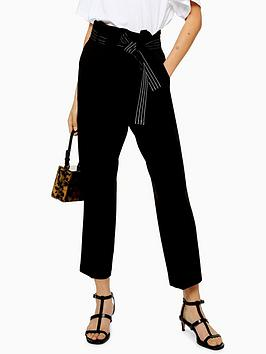 topshop-stitch-belted-trousers-black