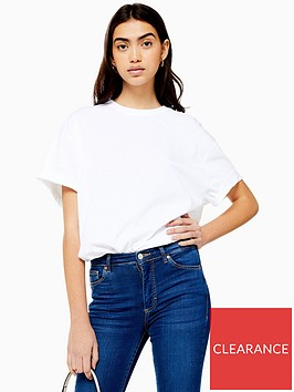 topshop-topshop-boxy-roll-sleeve-t-shirt-white