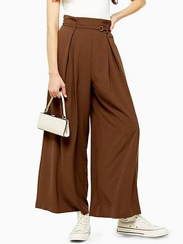 topshop-belted-wide-leg-trousers-brown