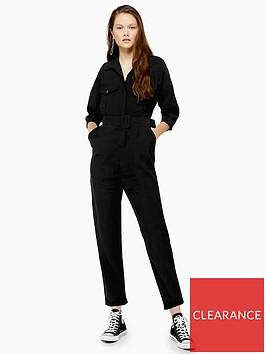 topshop-covered-belt-boilernbspsuit-black