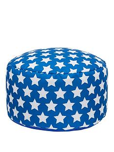 kaikoo-kids-footstool-blue-star