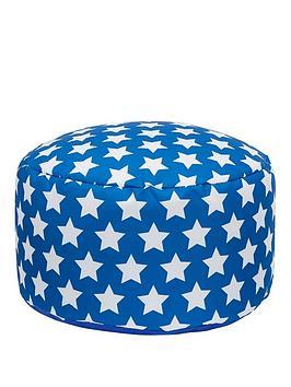 kaikoo-kids-footstool-blue-star