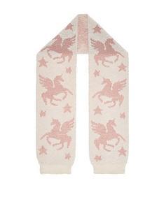 monsoon-luna-unicorn-jacquard-fluffy-scarf-ivory