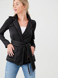 river-island-river-island-contrast-stitch-utility-jacket-black