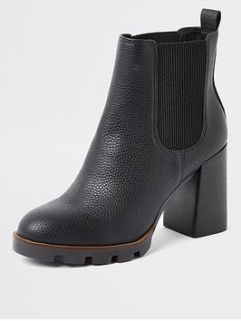 river-island-river-island-chunky-heeled-ankle-boot-black