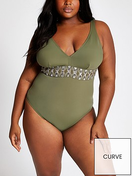ri-plus-ri-plus-embellished-waist-swimsuit-khaki