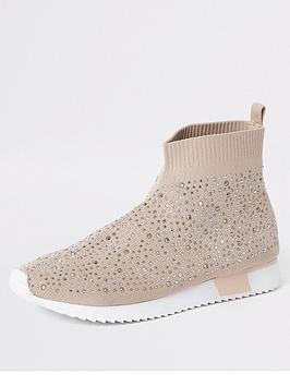 river-island-girls-sequin-embelished-sock-trainers-pink