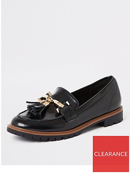 river-island-river-island-wide-fit-chunky-loafer-black