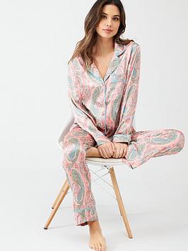 v-by-very-satin-printed-pyjamas-pink
