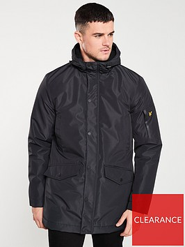 lyle-scott-technical-parka-jacket-black