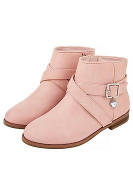 monsoon-sadie-pretty-charm-buckle-boot-pale-pink