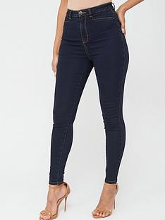 v-by-very-addison-super-high-waisted-super-skinny-jeans-dark-wash