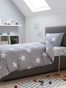 silentnight-healthy-growth-stars-duvet-cover-set-grey