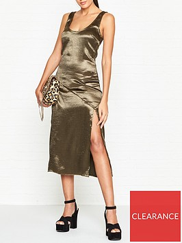 vestire-virgin-suicides-split-leg-slip-dress-khaki