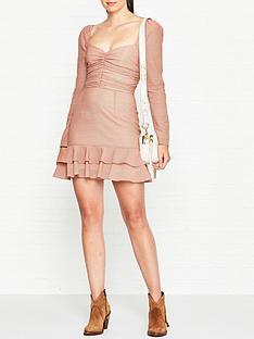 vestire-true-romance-mini-dress-pink