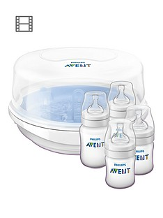 Avent Philips Avent Microwave Steam Sterilizer Set
