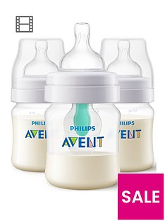avent-avent-anti-colic-bottles-with-airfreetrade-vent-3x-4-oz125-ml
