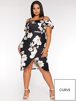 quiz-curve-curve-floralwrap-midi-dress