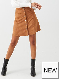 v-by-very-button-through-skirt-tan