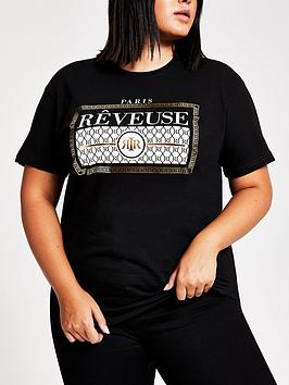 ri-plus-reveuse-t-shirt-black