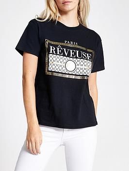 ri-petite-reveuse-t-shirt-black