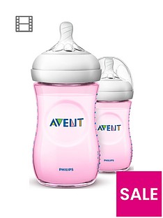 avent-philipsnbspavent-natural-pink-baby-bottles-2x-9oz260ml