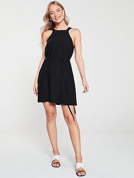 river-island-swing-dress-black