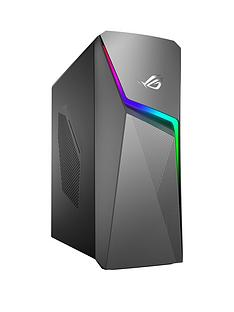 Asus ROG GL10CS-UK079T Intel Core i5, 8GB RAM, 1TB Hard Drive, GTX 1650 4GB Graphics, Gaming Desktop - Black