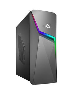 Asus ROG GL10CS-UK042T Intel Core i5, 8GB RAM, 1TB Hard Drive & 256GB SSD, GTX 1660TI 6GB Graphics, Gaming Desktop - Black
