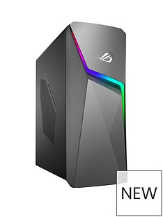 Asus ROG GL10CS-UK063T Intel Core i5, 16GB RAM, 1TB Hard Drive & 256GB SSD, RTX 2060 6GB Graphics, Gaming Desktop PC - Black