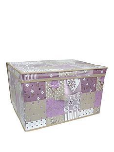 printed-vintage-patchwork-jumbo-storage-box
