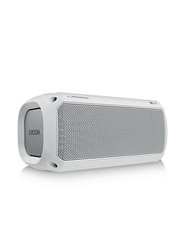 LG PK3 XBOOM Go Bluetooth Party Speaker - White Best Price and Cheapest