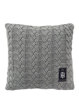 tommy-hilfiger-knitted-bowling-cushion