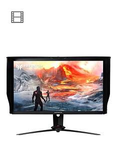 acer-27-inch-ultra-hd-ips-120hz-144hz-oc-g-sync-display-hdr-400-quantum-dot-100m1-acm-4ms-hdmi20-dp14-usb-30-hub-gaming-monitor-black