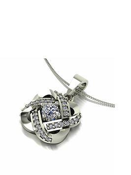 moissanite-moissanite-9ct-white-gold-1ct-eq-knot-twist-pendant-necklace