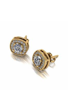 moissanite-moissanite-9ct-gold-13ct-eq-cushion-centre-halo-stud-earrings