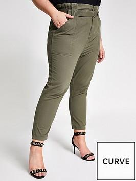 ri-plus-paperbag-cargo-trouser-khaki