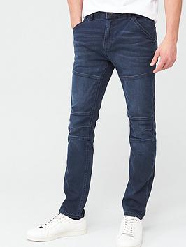very-man-slim-utility-jeans-dark-blue