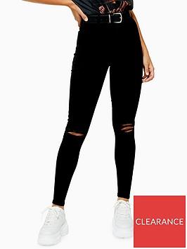topshop-joni-ripped-high-waist-stretch-skinny-jeans-black