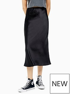 topshop-satin-bias-cut-midi-skirt-black